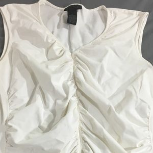 The Limited Stretch Womens Blouse Shirt Sleeveless